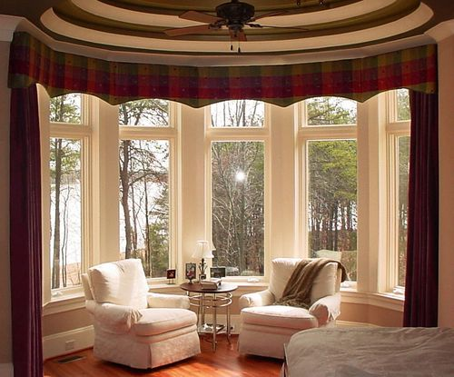 фото богатых штор