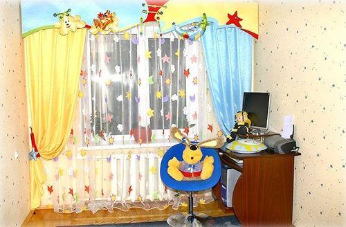 Красивые шторы для детской комнаты
