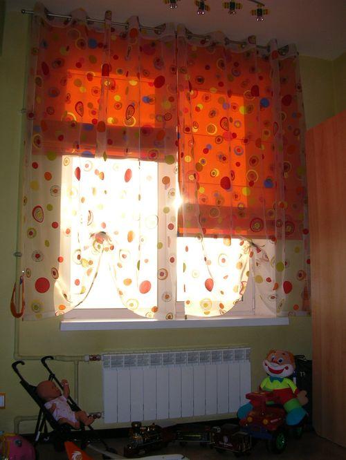 Шьем римские шторы для кухни