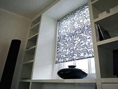 Рулонные шторы на окна в Леруа Мерлен