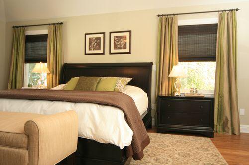 Шторы на окна маленькой спальни