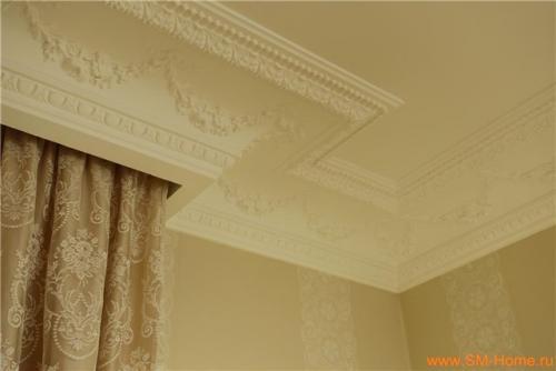 Скрытые карнизы для штор потолочные