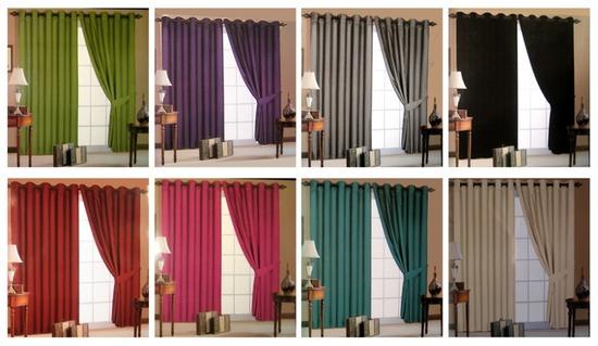 Различные фасоны штор