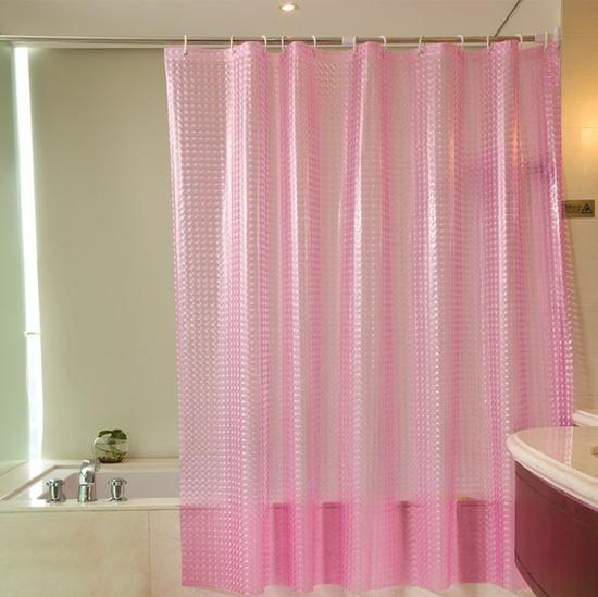 3D-шторы в ванной комнате