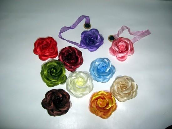 Магниты для штор в виде цветов
