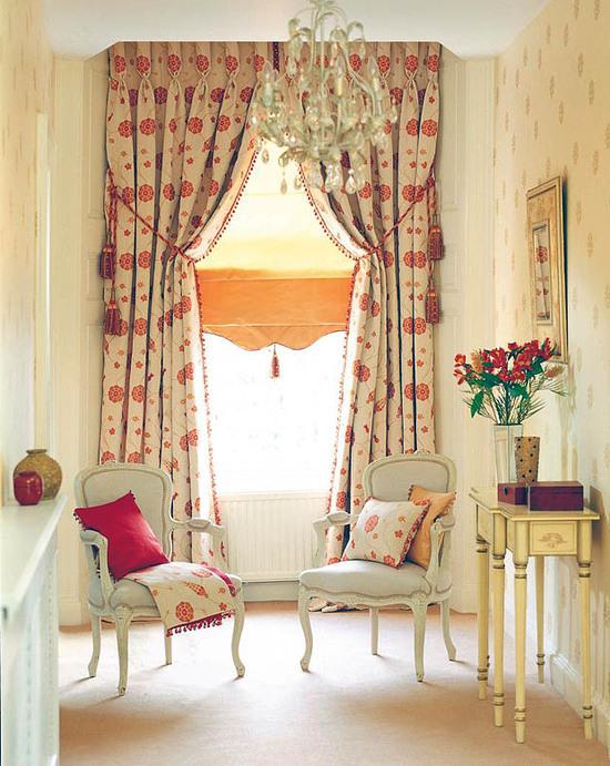 Такие шторы - лучшее украшение интерьера