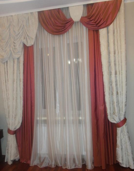 Турецкие шторы в интерьере квартиры
