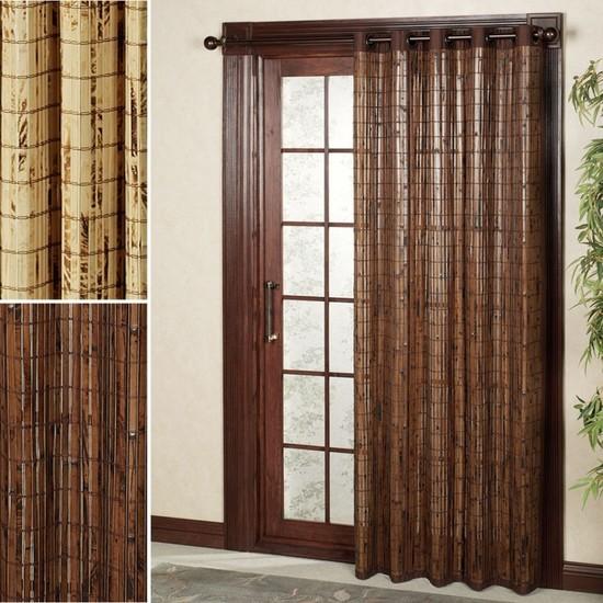 Дверные шторы из бамбука