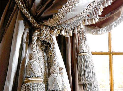 Кисточку для шторы своими руками