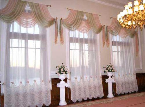 Выбираем шторы на арочные окна