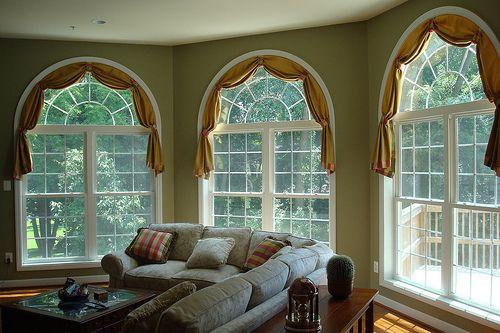 шторы на арочные окна_08