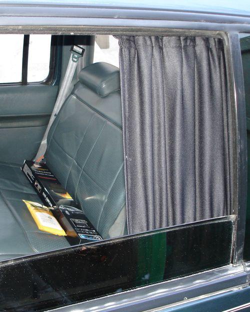 Шторки в автомобиль своими руками фото