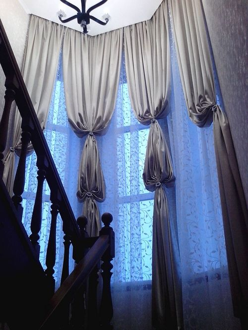 Шторы на нестандартные окна