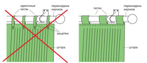 Как сделать петли на тюль фото 553