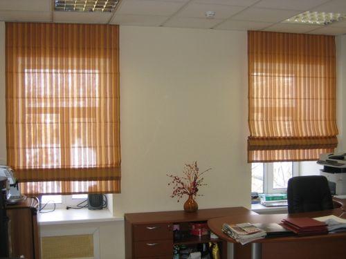 Выбираем шторы в офис