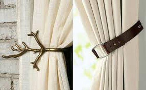 Как своим руками сделать подвязки к шторам фото 733