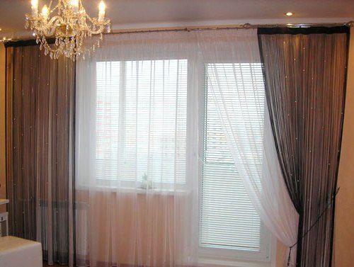 Выбираем шторы веревки