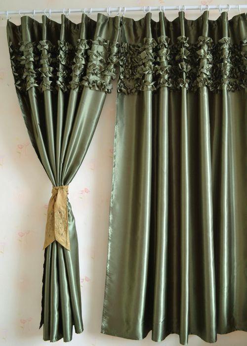 Выбираем шелковые шторы