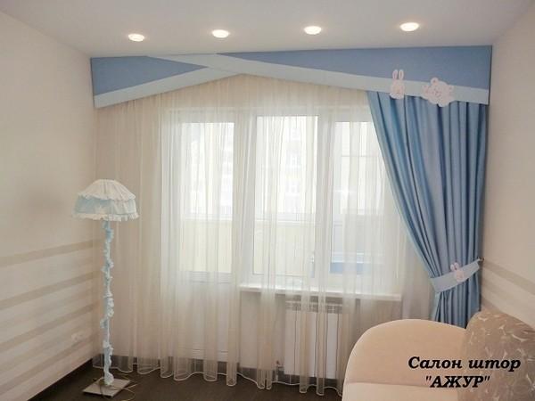 Дизайн штор для детской для мальчика