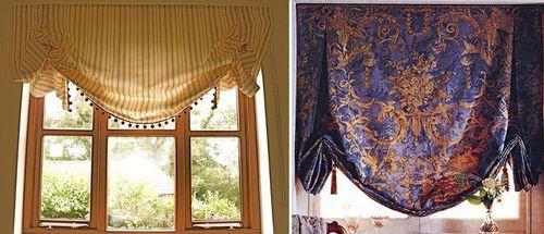 Красивые шторы с узором