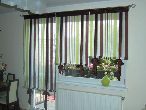 Gordijnen tot aan de vensterbank Foto