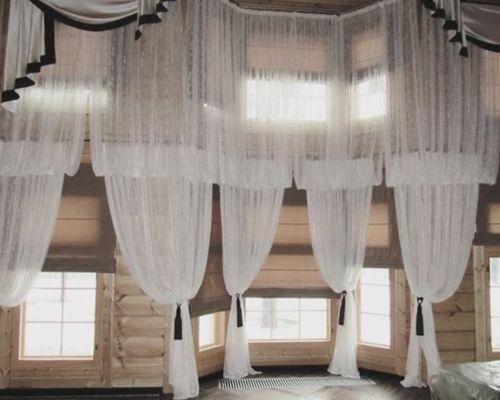 Выбираем кружевные шторы
