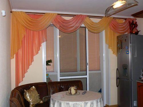 Ламбрекен шторы для кухни своими руками выкройки фото 1
