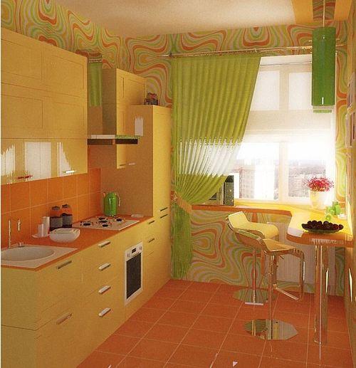 Выбираем зеленые шторы