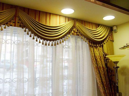 Мастер-класс: как сшить ламбрекен для штор