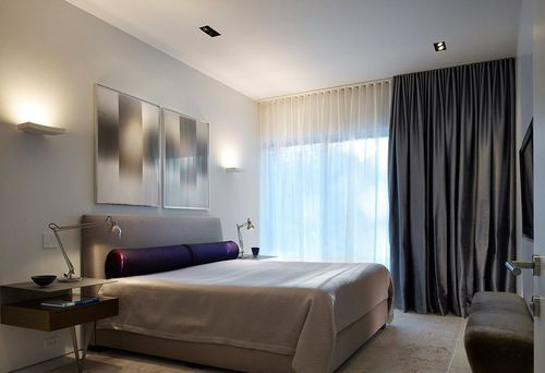 Тюль и шторы в спальню